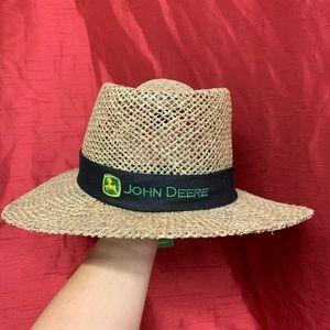 John Deere Straw Hat
